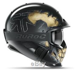 Ruroc RG1-DX Ski / Snowboard Helm Fear M/L (57-60cm)