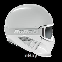 Ruroc RG1-DX Ski / Snowboard Helm Ghost XL/XXL (61-64cm) (ohne Visier)