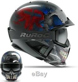 Ruroc RG1-DX Ski / Snowboard Helm LTD Reaper freeride HelmetYL/S (54-56cm)