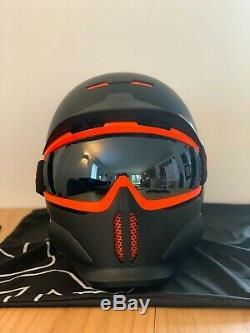 Ruroc RG1-DX Ski/Snowboard Helmet Black Nova Size YL/S (54-56cm)