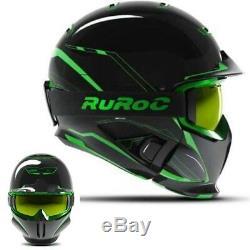 Ruroc RG1-DX Ski/Snowboard Helmet Chaos Viper M/L (57-60CM)
