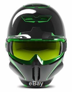 Ruroc RG1-DX Ski/Snowboard Helmet Chaos Viper YL/S (54-56CM)