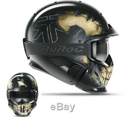 Ruroc RG1-DX Ski/Snowboard Helmet FEAR M/L (57-60CM)