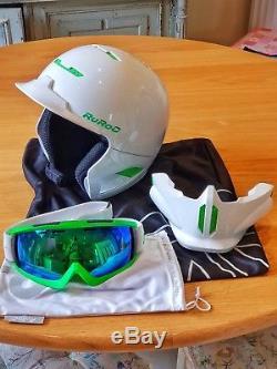 Ruroc RG1-DX Ski/Snowboard Helmet, Medium