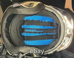 Ruroc RG1-DX Snowboarding Helmet Chrome 20/21 NEW / NEVER USED withBlack Goggles