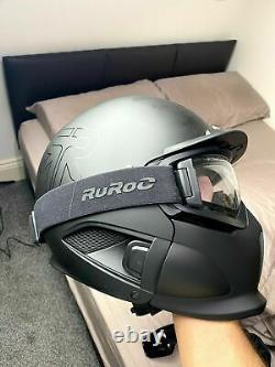 Ruroc RG1-DX Snw Sports Helmete Core (2020) Version XL/XXL + Clear Maglens