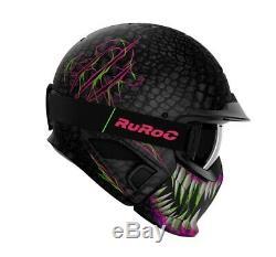 Ruroc RG1 DX Toxin Helmet Ski Snowboard
