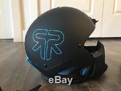 Ruroc RG1-DX XL/XXL Black Ice helmet & Goggle Combo Brand New