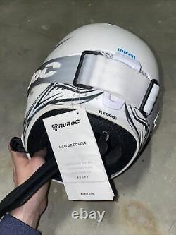 Ruroc RG1-DX rare Helmet M/L skiing / snowboarding + RUROC MAGLOCK GOGGLES