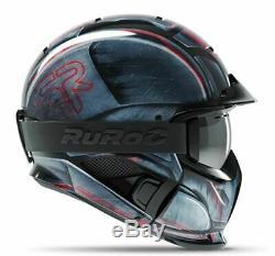 Ruroc Rg1-dx Ski/Snowboard Helmet Machine M/L (57-60CM)