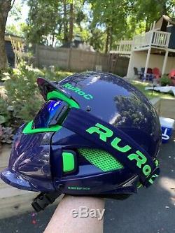 Ruroc Snowboarding Helmet M/L RG1-DX Purple Haze 57-60cm