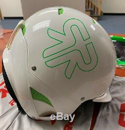 Ruroc White&Green RG1-X Ski/Snowboard Helmet 2014/15 Range FREE SHIPPING