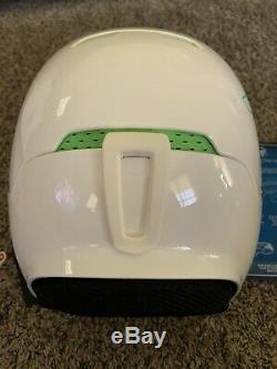 Ruroc rg1 helmet White And Green