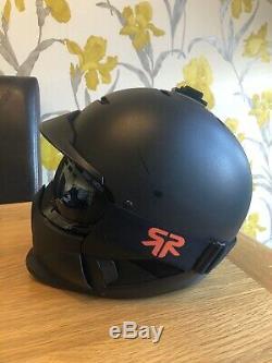 Ruroc ski/snowboard helmet M/L