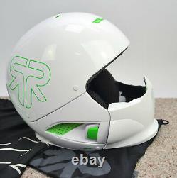 Ruroc weiß grün M/L Ski Snowboard Helm Fullface Helmet Alpin Sport Mode Style