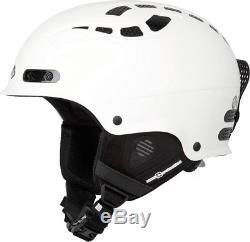 SAVE 30% 2018 Sweet Protection Igniter Helmet SATIN WHITE M/L 56-59cm
