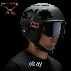 SPY Astronomic Snow Ski Snowboard Helmet Mips Gear Matte Black EXPRESS SHIPPING