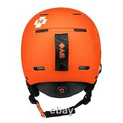 SPY Astronomic Snow Ski Snowboard Helmet Mips Gear Matte Orange EXPRESS SHIPPING