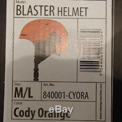 SWEET PROTECTION ski helmet BLASTER cody ORANGE medium/large 56-59 cm snowboard