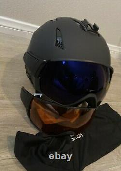 Salomon Driver snow ski snowboard helmet + goggles combo size Large