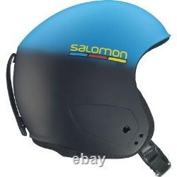 Salomon Helm X Race Slab Skihelm blau