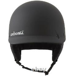 Sandbox Classic 2.0 Helm Black Ski Snowboard Protection Visor NEU