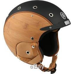 Ski Helm Bogner Skihelm Bamboo Black #4698 Ski Helm