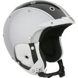Ski Helm Bogner Skihelm Racing silver #9402 Ski Helm