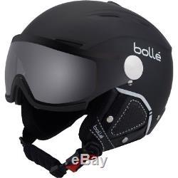 Ski Helm Bolle Skihelm Backline Visor Premium II Photochrom Schwarz #1604