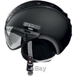 Ski Helm Casco Skihelm SP-2 Snowball Visor Schwarz II #2977