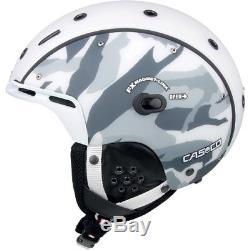 Ski Helm Casco Skihelm SP-6 Airwolf Camo Weiß Schwarz Grau II #3810