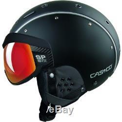Ski Helm Casco Skihelm SP-6 SIX Visor Schwarz II Vautron #2311 Ski Helm