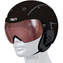 Ski Helm Casco Skihelm SP-6 Six Schwarz Vautron #2311 Ski Helm