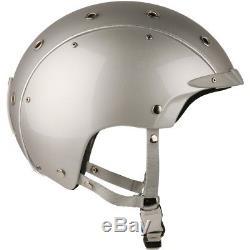 Ski Helm Indigo Ski-Radhelm Core Silber Titan #7704