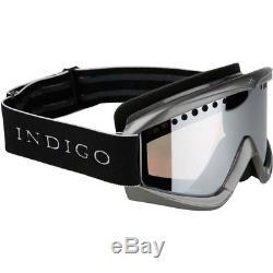 Ski Helm Indigo Skibrille Core Limited Titan Schwarz #9853
