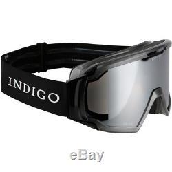 Ski Helm Indigo Skibrille Edge Limited Titan Schwarz #9839