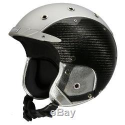 Ski Helm Indigo Skihelm Carbon Black #9532 Ski Helm