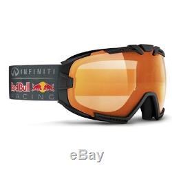 Ski Helm Infiniti Red Bull Racing Skibrille Rascasse 002 matt black #1266 Ski He