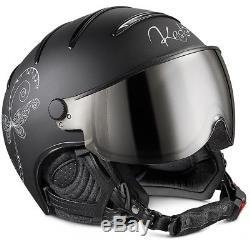 Ski Helm Kask Skihelm Lifestyle Lady Libellula Schwarz II #8802