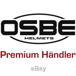 Ski Helm OSBE Hybrid titan-weiss Skihelm mit Visier selbst-tönend #1487