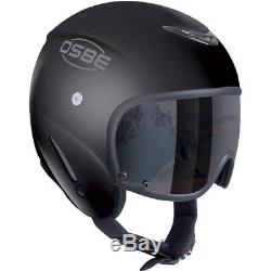 Ski Helm OSBE Skihelm Bellagio Schwarz Matt #4563 Ski Helm