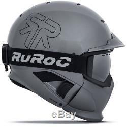 Ski Helm Ruroc RG1-DX Limited Edition Magnum Grau #0899