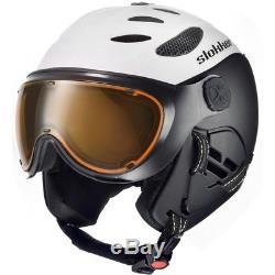 Ski Helm Slokker Skihelm SLK Balo II Weiß #4242 Ski Helm