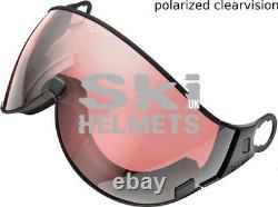 Ski Helmet CP Visor CAMURAI CR BLUE BLACK ST, Clear Blue Mirror