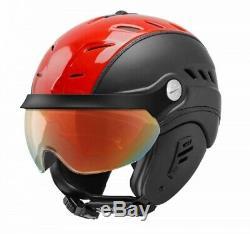 Slokker BAKKA red black Visier Einzelstück Skihelm Snowboardhelm Helm NEU N2