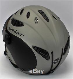 Slokker Balo Adaptiv Skihelm Ski Snowboard Helm Eislaufen Winter Sports Gr 52-54