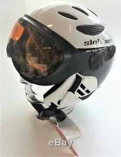 Slokker Balo Helm Ski/Snowboardhelm 60-62 cm Weiß NEU #378