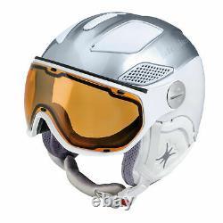 Slokker Raider Free Lady silverwhite Visier Skihelm Snowboardhelm Damen Helm j19