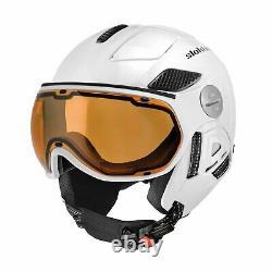 Slokker Raider Pro white Visier Skihelm Snowboardhelm NEU Visierhelm Helm j20