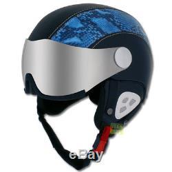 Slokker Skihelm Snowboardhelm Dinho Schwarz/Blau